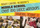 Middle School Dance and Cheer Workshops