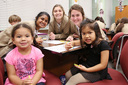 Cub Corner Visits Child Development Class